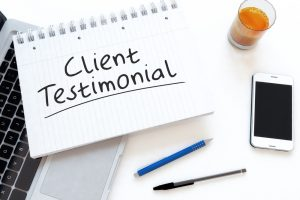 client testimonials feature on Realtor.com